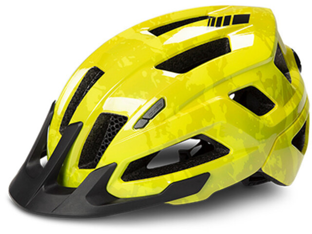 Cube Steep Helmet glossy citrone